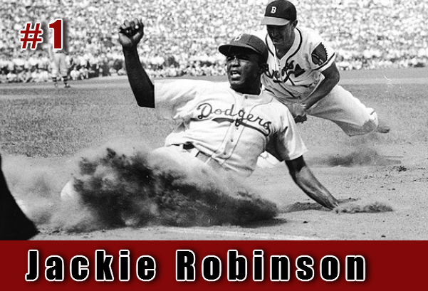 Image; Jackie Robinson was the first. Aplus Sports and More.LLC