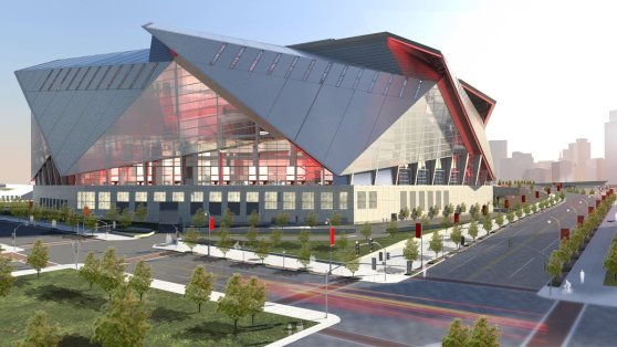 Atlanta Falcons New Stadium Rendering