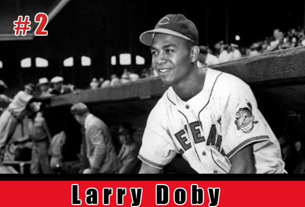Larry Doby, Second Black Hall of Fame Inductee. Image; Carl Bennett, Aplus Sports and More, LLC