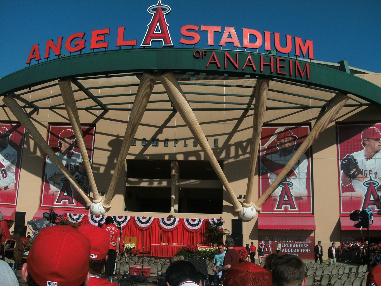 Los Angeles Baseball Stadium Los Angeles Angle Baseball