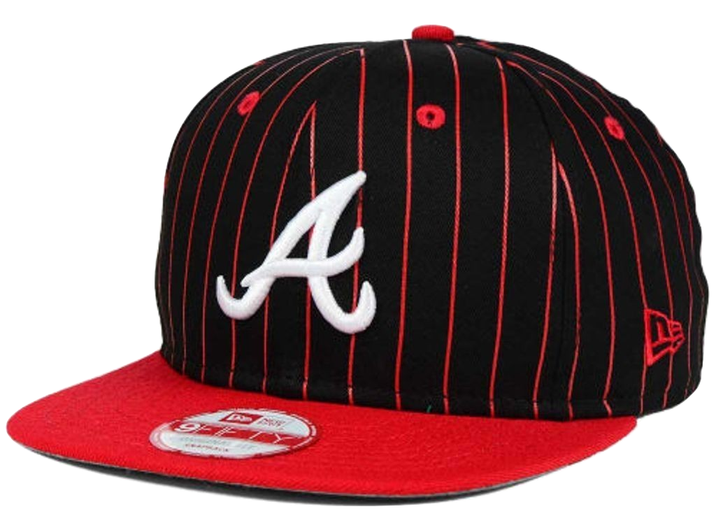 Atlanta Braves New Era MLB Vintage Pinstripe 9FIFTY Snapback