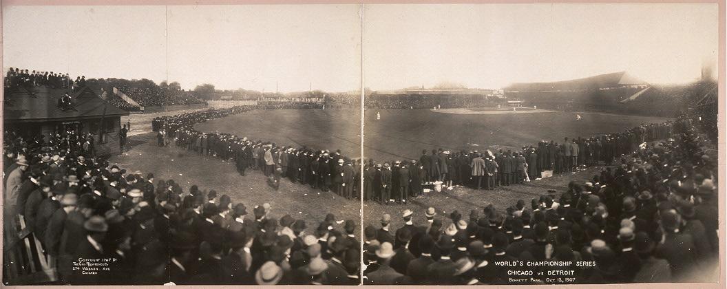 Bennett Park on October 12, 1907