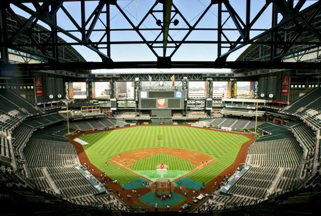Chase Field Aerial