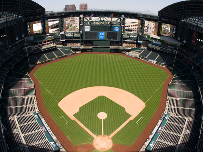 Chase Field In Phoenix Arizona Too Hot Not To Put A