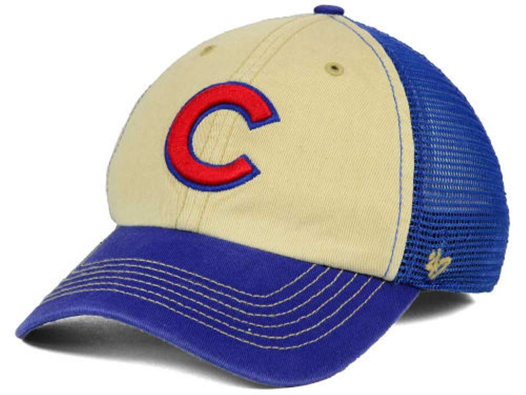 Chicago Cubs MLB Goin Yard Mesh '47 CLEAN UP Cap