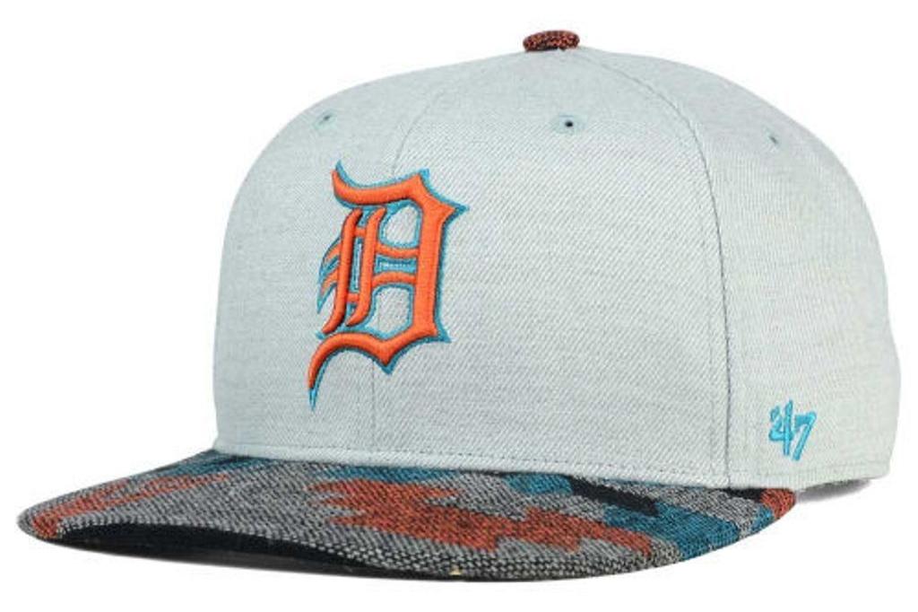 Detroit Tigers MLB Armadillo Snapback '47 Cap