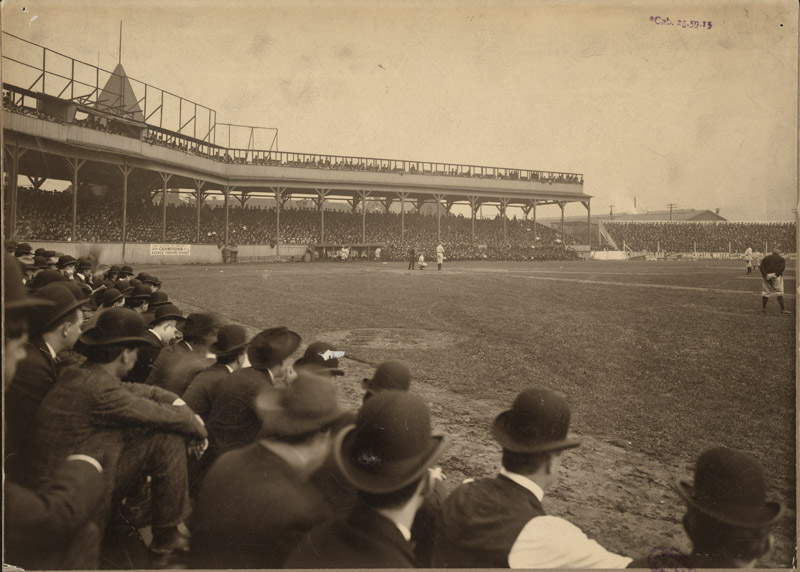 Exabition Park, Game 4 of 1903 World Series.