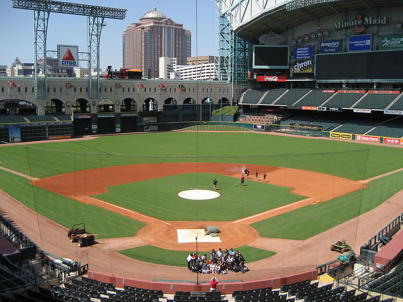 Minute Maid Park-Top Open.