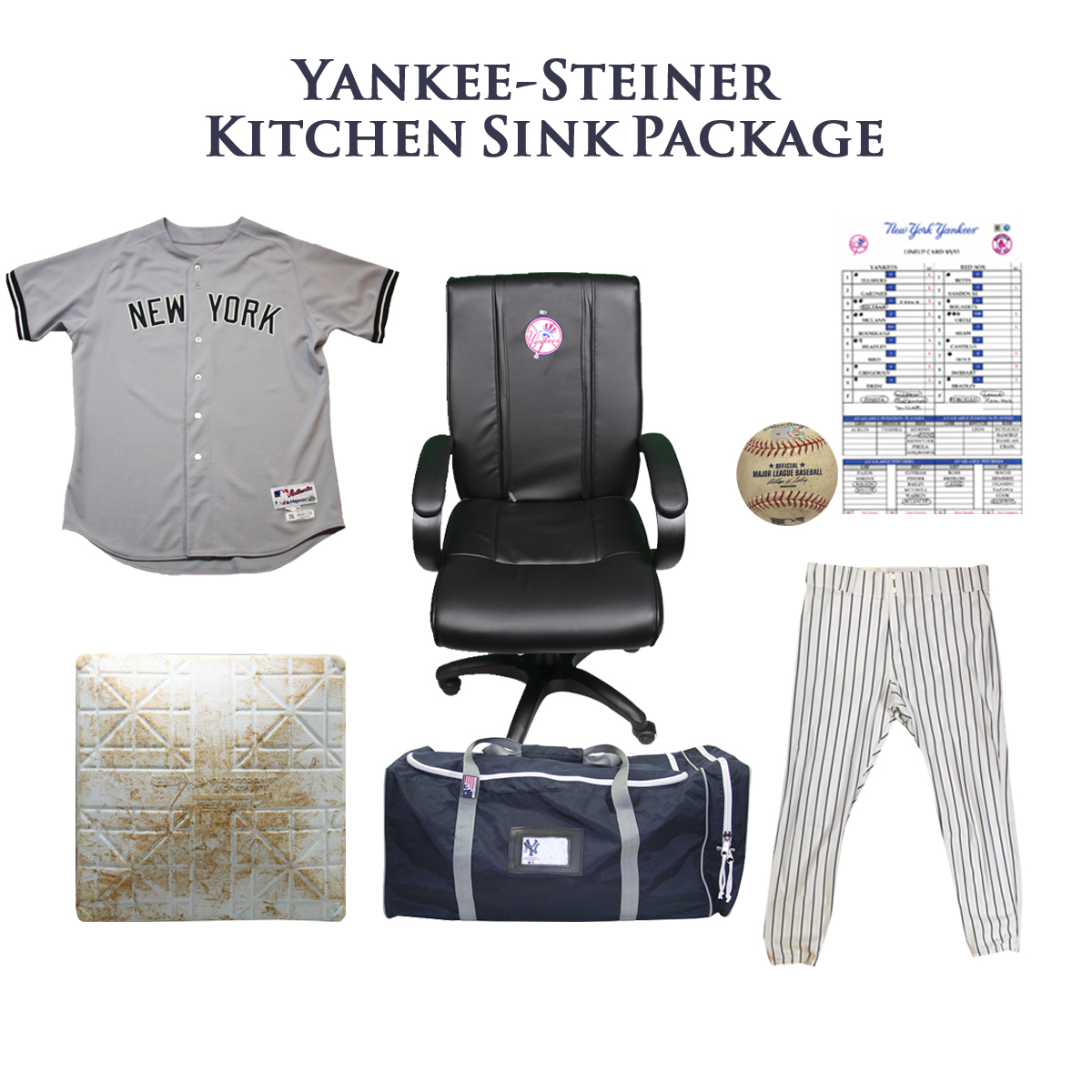 New York Yankees Gab Bag-Everything But The Clubhouse Sink.