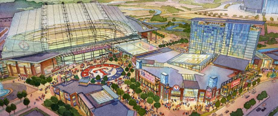 New Rangers Stadium, Arlington, TX