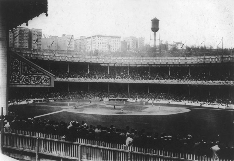Polo Grounds during 1913 World Series-New York Giants vs. Philadelphia Athletics
