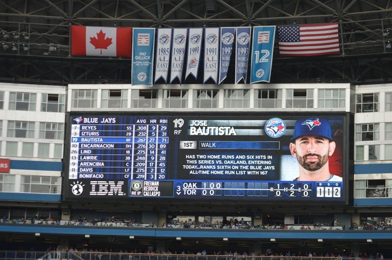 Rogers Centre Video Board