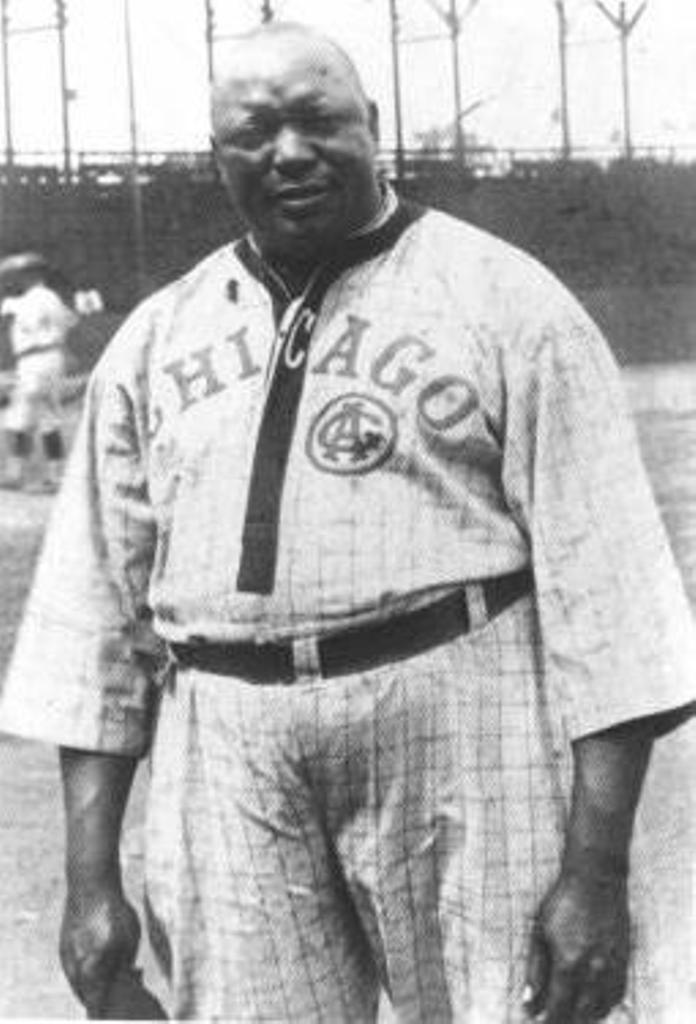Andrew Rube Foster (Photo courtesy of National Baseball Hall of Fame Library)