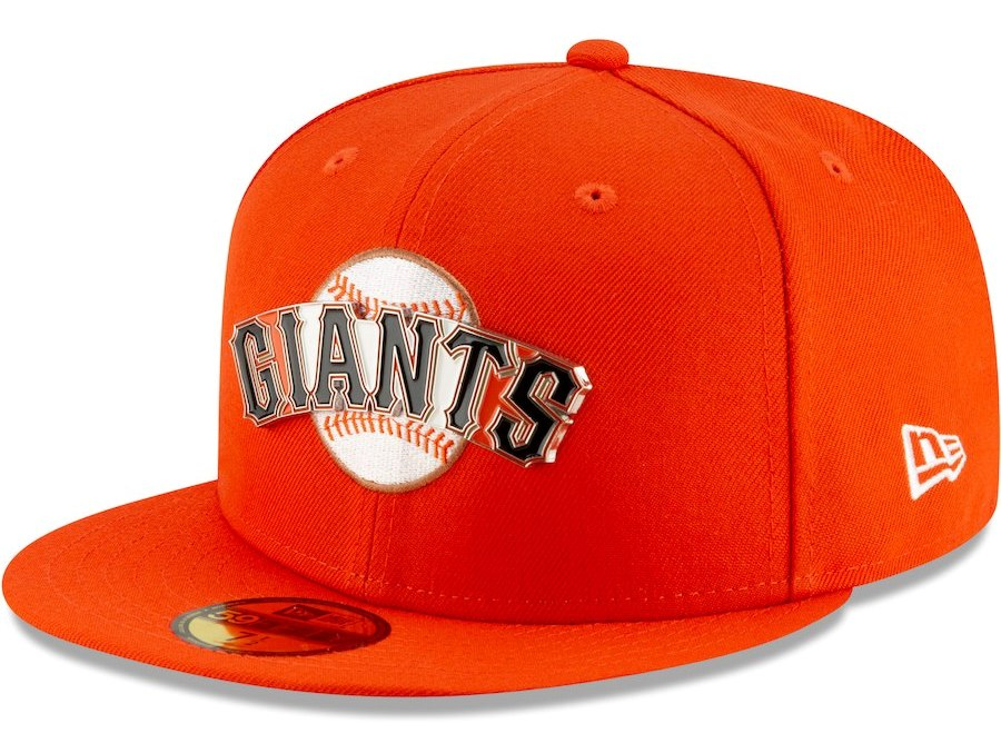 San Francisco Giants New Era Metal & Thread 59FIFTY Fitted Hat – Orange