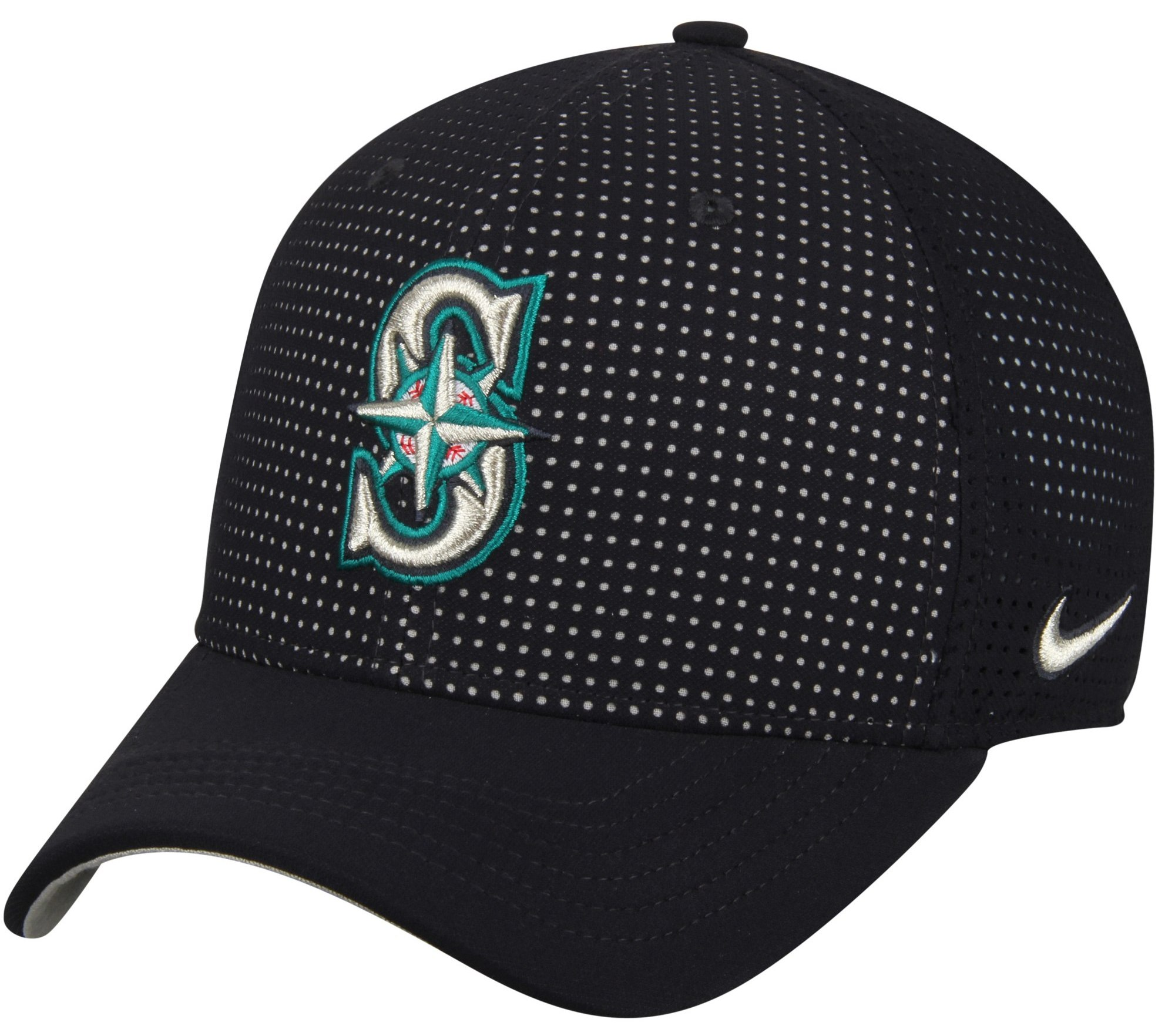 Seattle Mariners Nike AeroBill Classic 99 Performance Adjustable Hat - Navy