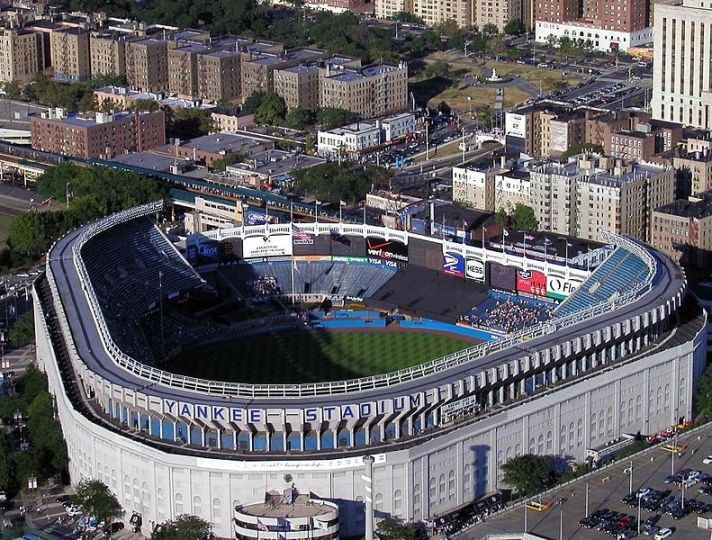 Perimeter Of Fence Of Old Yankee Stadium 8