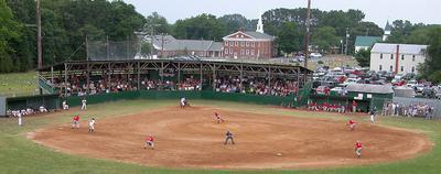 Deltaville Ballpark - Deltaville Deltas vs Navy Baseball, 2007.