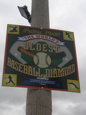 This title was, for years, was held by London, Ontario's Labatt Park because it actually starting play in 1877. However it was later discovered that home plate had been moved from its original location giving Fuller Field the title of Oldest continually used baseball park in the world.