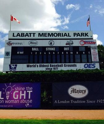 In September 2008, however, Labatt Park replaced Clinton, Massachusetts' Fuller Field in the 2009 Guinness Book of World Records (page 191) as the