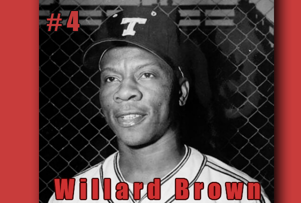 Willard Brown, The 4th Black Hall of Fame Inductee. Image; Carl Bennett, Aplus Sports and More, LLC