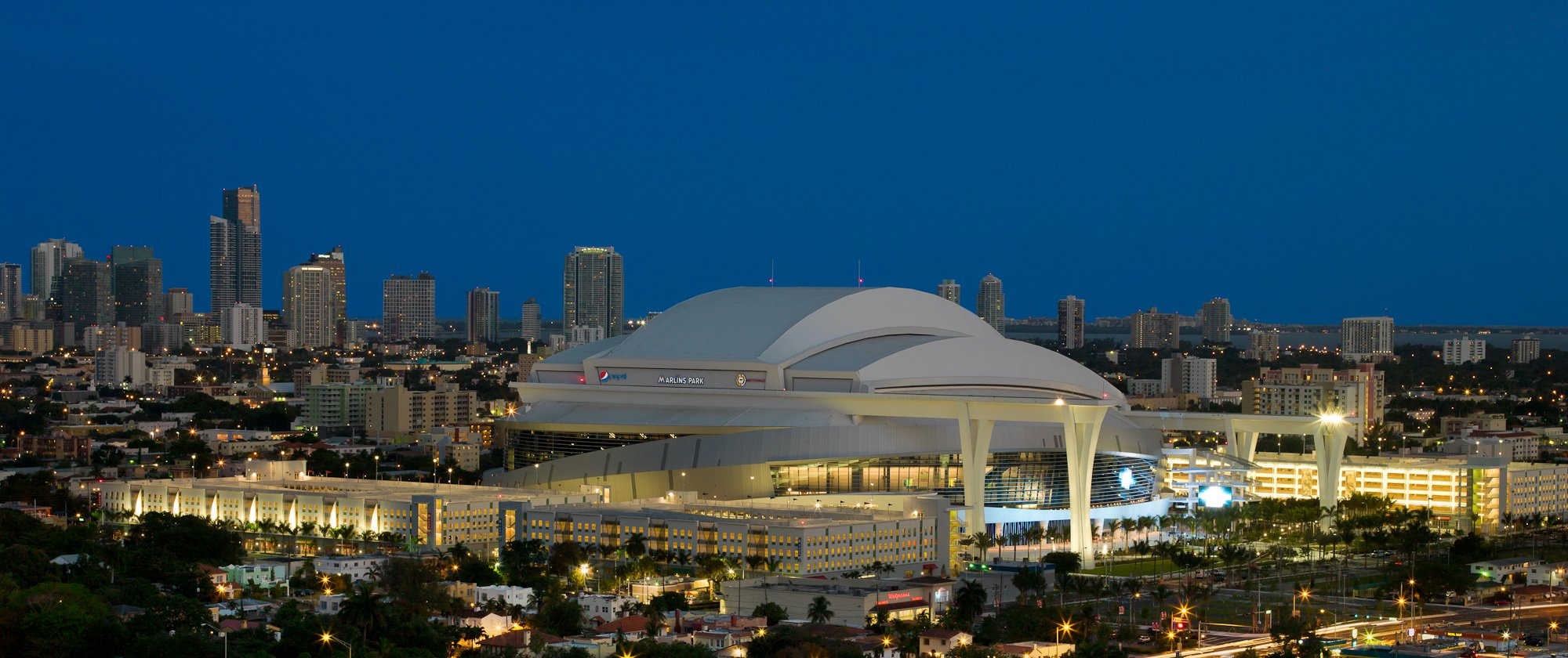 Image; Awesome Reviews of Marlins Park on Yelp