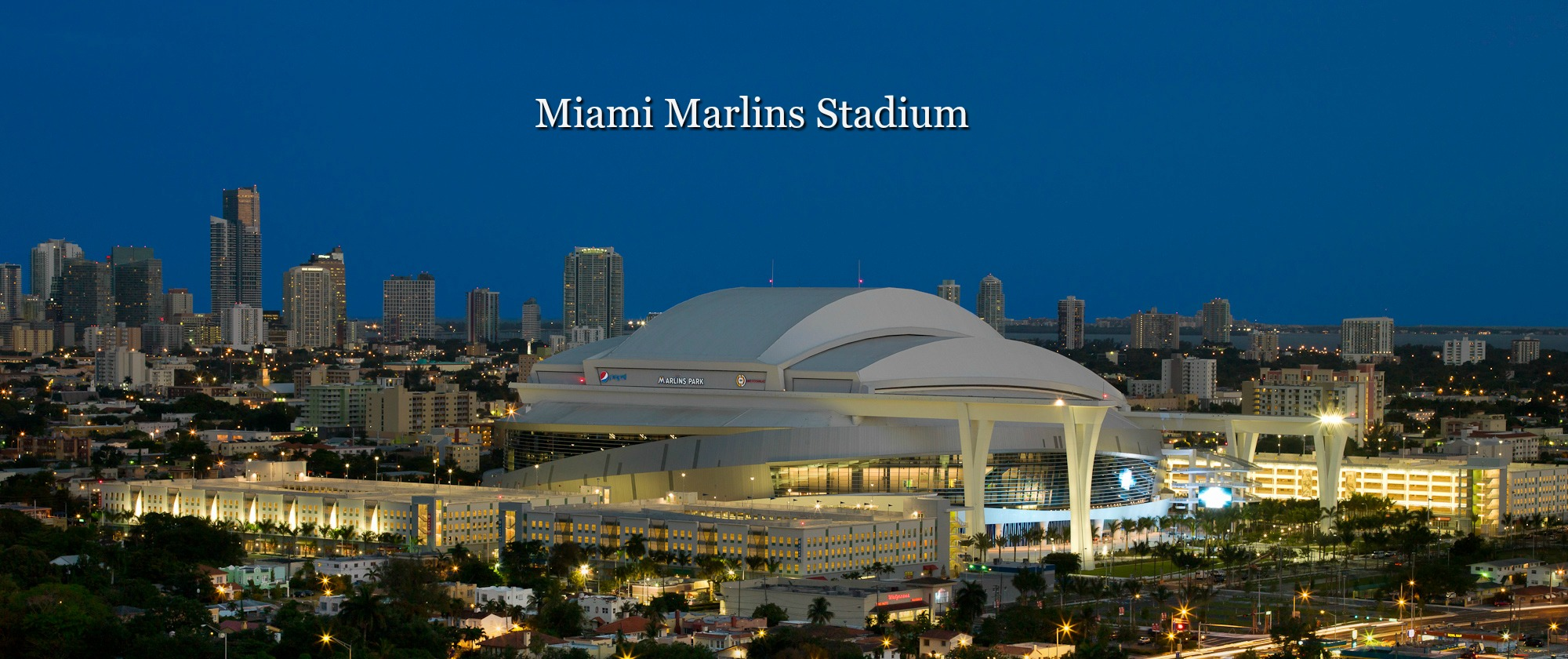 Miami Marlins Stadiums-A+ Sports & More
