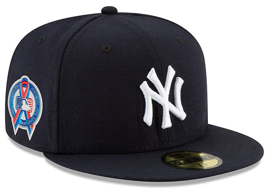Men's New York Yankees New Era Navy 2018 9/11 Authentic Collection 59FIFTY Fitted Hat