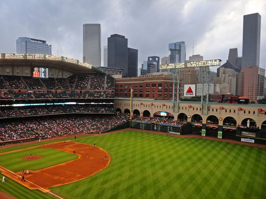 Minute Maid Park View of Skyline