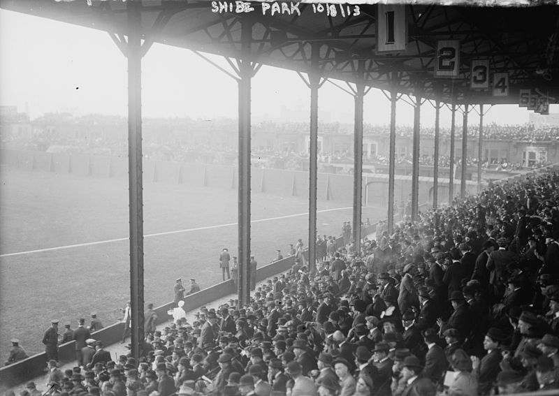 Stadium's third World Series in 1913, coincided with Shibe's first major upgrade and expansion, more seats, more roof